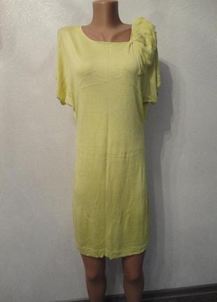 Летний сарафан, платье с цветком h&m, короткий рукав