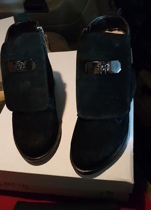 Ботинки кавалли зима