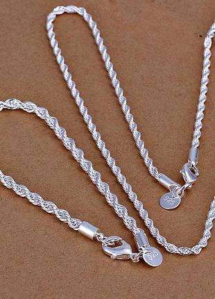 Эксклюзив !набор - ювелирные изделия с серебряным покрытием 925 проба