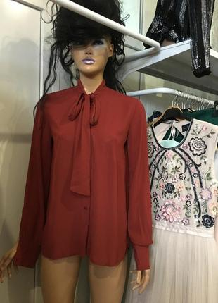 Ліквідація товару до 10 грудня 2018 !!! блуза с бантом asos