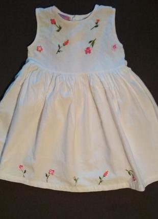 Нарядное платье для девочки. вышивка. цветы. платье для принцессы