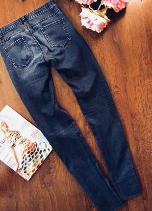 Крутые потертые джинсы denim co.