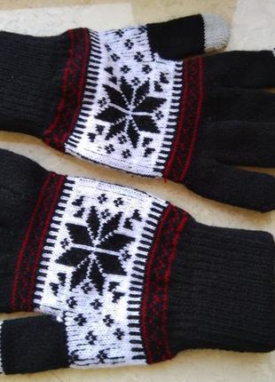 Зимние перчатки iphone для сенсорных экранов