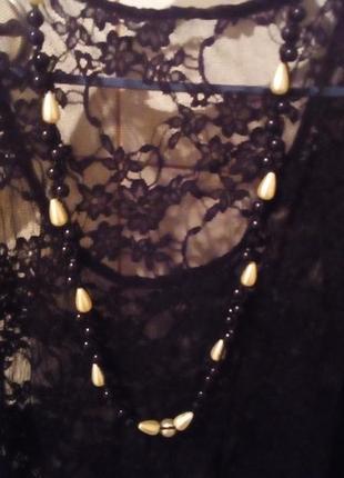 Бусы колье ожерелье