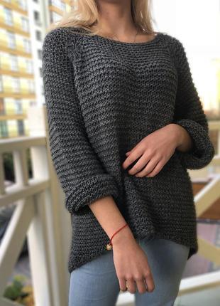 Теплий светер oversize