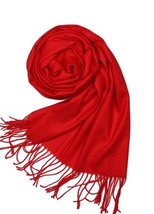 Шарф cashmere красный