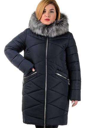 Зимняя женская куртка на меху 2019