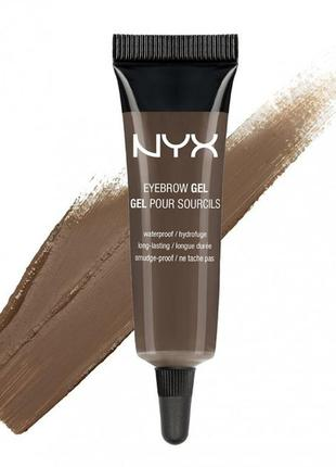 Nyx eyebrow gel гель для бровей № 3 brunette