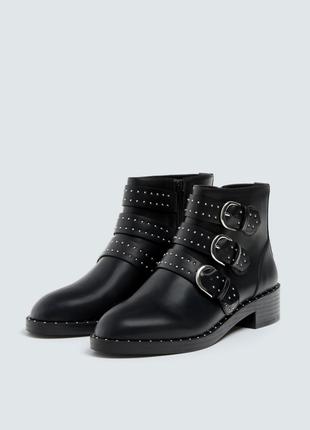 Фирменные ботинки с заклепками р. 36, 37, 38, 39, 40