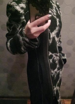 Пальто шерстяное твидбукле giorgio