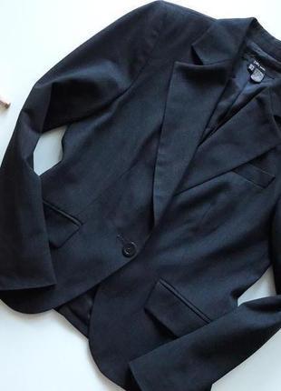 Темно серый базовый пиджак