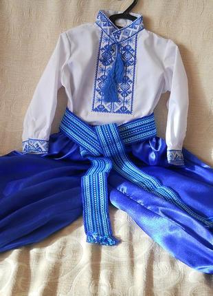 Суперклассный костюм для мальчика для выступлений или на новый год