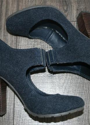 Брендовые туфли ботильоны 37-38