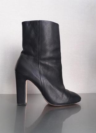 Кожаные ботинки  100%натуральная кожа