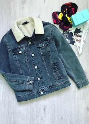 ❗️акция 1+1=3❗️утеплённая джинсовая куртка