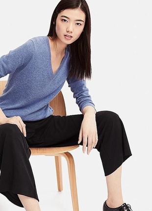 Серый свитер кашемир 100 %