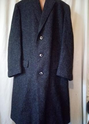 Вечное неубиваемое пальто не кошлатится зимнее шерсть шерстяное