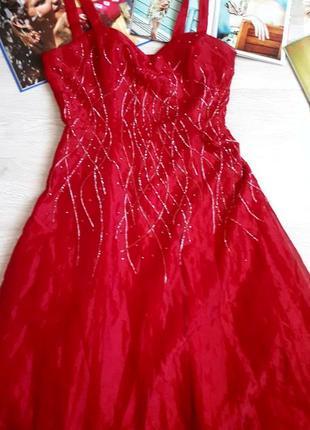 Платье вечернее длинное / платье на выпускной / вечернее платье длинное