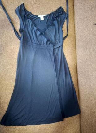 Домашнее сексуальное платье халат на запах 46-48 рр