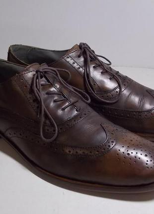Отличные мужские кожаные туфли esprit collection 44 размер
