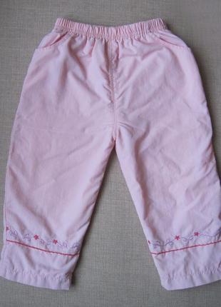 Демисезонные брюки, штаны из плащевки