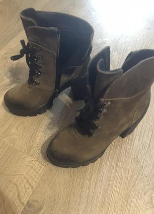 Стильные ботильоны /ботинки на каблуке ! осень 🍂 распродажа