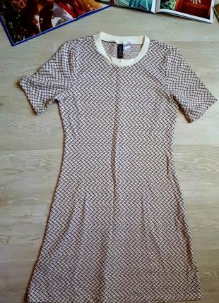 Стильное платье h&m / 2я вещь в подарок