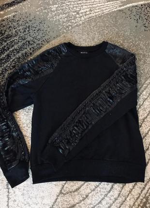 Крутой свитшот,бомбер свитер