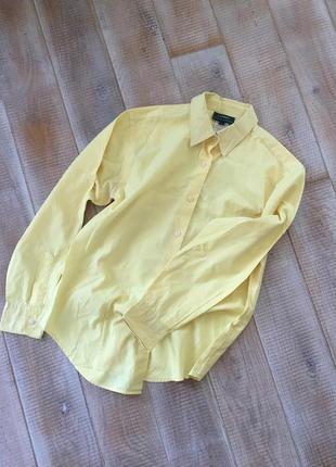 Лимонна сорочка ralph lauren