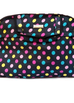 Женская дорожная сумка (53х33х18), ручная кладь