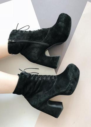 Замшевые ботинки vagabond
