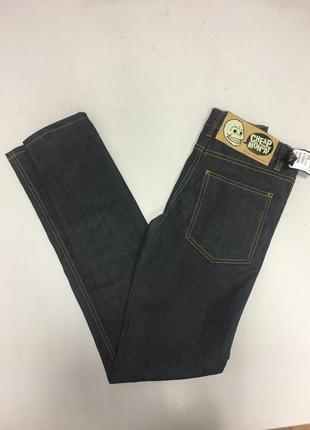 Новые темно синие винтажные джинсы cheap monday раз мер xs s