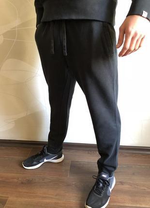 Спортивные штаны утеплённые f&f