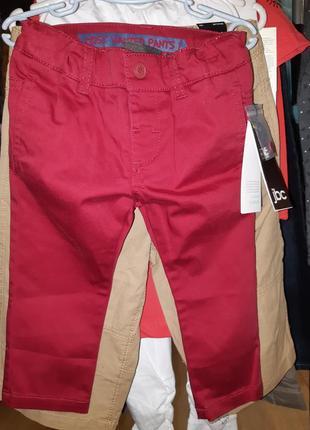 Фирменные яркие джинсы (80 см)