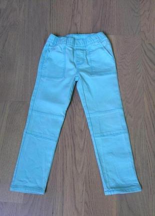 Голубые брюки джеггинсы от oshkosh на 4 года