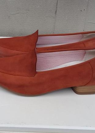 Кожаные мокасины лоферы балетки туфли ara 36 р