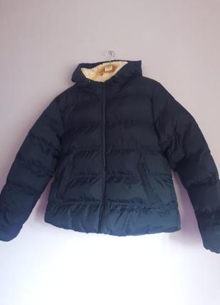 Теплий короткий пуховик, куртка