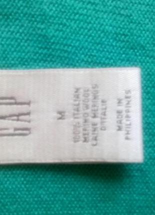 Пуловер джемпер gap шерсть  💯 %3