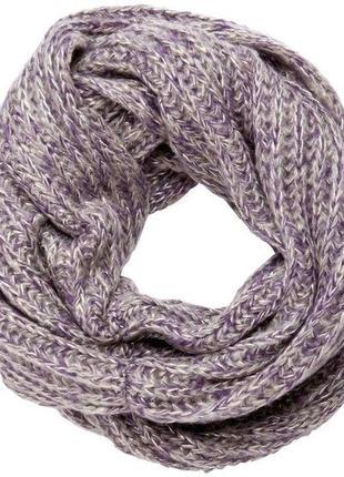 Классный теплый шарф-хомут pieces