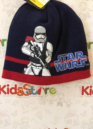 Новая шапка star wars для мальчика, disney, 3756