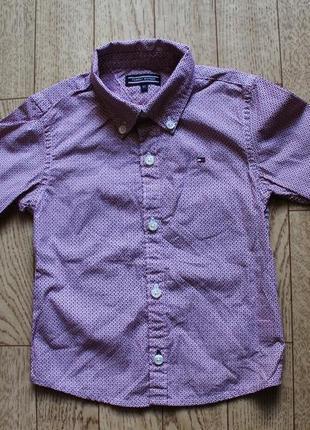 Рубашка tommy hilfiger 9-12мес, на рост 80см