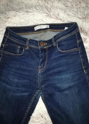 Узкие джинсы zara 34 размера