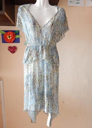 Новое платье англия 48-50 размер вискоза можно пляжное
