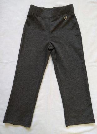 Серые брюки george на 3-4 года для девочки1