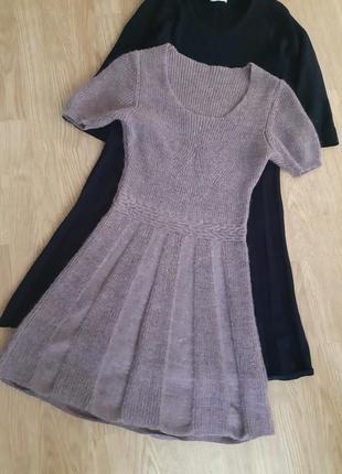 Теплое платье шерсть, мохер  италия