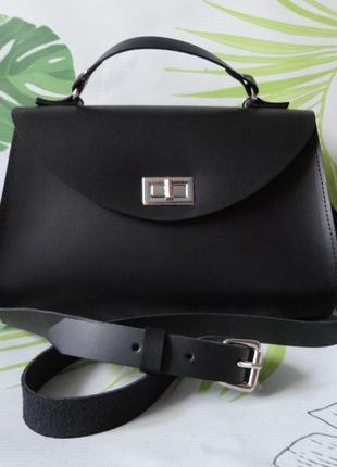 Классическая женская сумка итальянская кожа