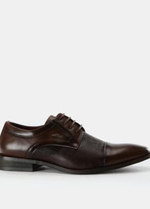 Мужские кожаные монки лоферы оксфорды туфли fabi оригинал