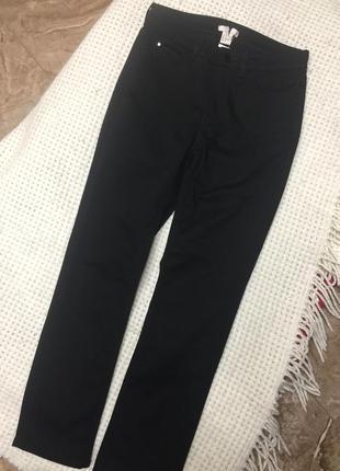 Плотные джинсы осень высокая посадка