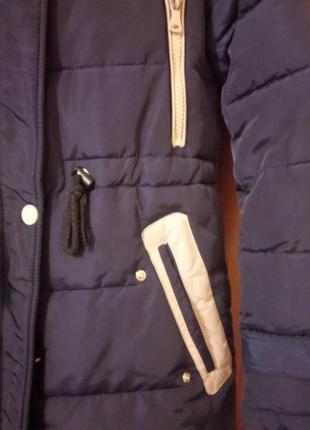 Зимняя куртка удлинённая2 фото