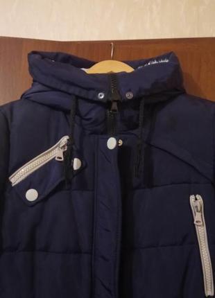 Зимняя куртка удлинённая5 фото